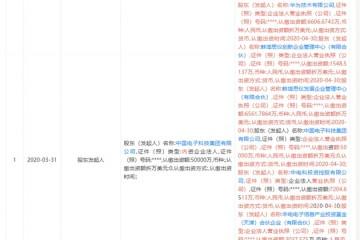 华为出资6600万元入股中电仪器持股8%