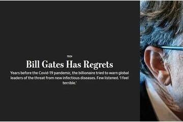 主张常被各国领导人疏忽比尔·盖茨无法我心累了