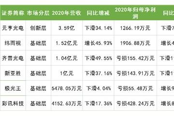 最高净利润率19.15%新三板企业2020年赢在哪